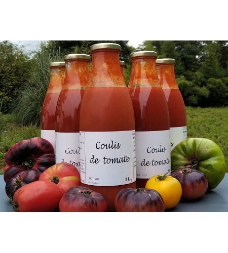 carton de 6 l de coulis tomates bio